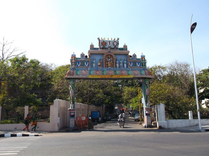 Parthasarathy Temple Triplicane Chennai