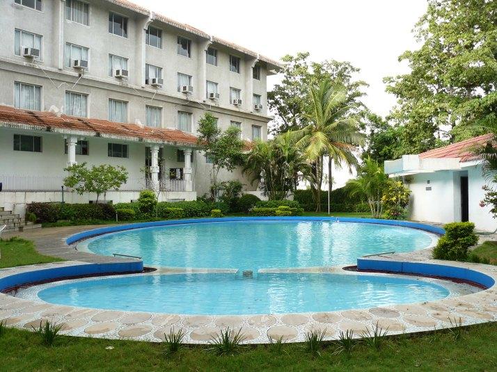 Pool Side of Hotel Taj Gateway, Bangalore