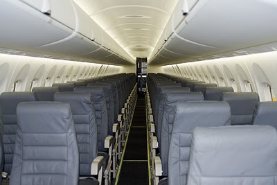 Cabin Interiors of Spicejet