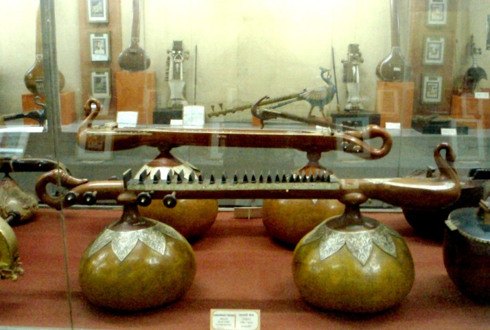 Peacock Shaped Musical Instruments