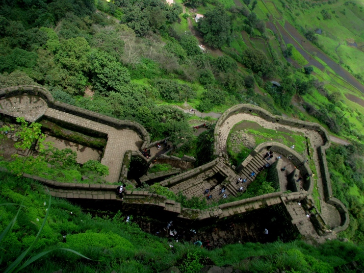 Greenery at Lohagad Fort Pune