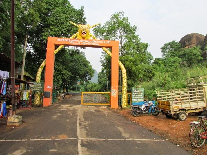 Kalakkad Mundanthurai Tiger Reserve Entrance