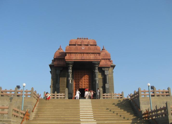 Entrance View of Vivekananda Rock Memorial Kanyakumari