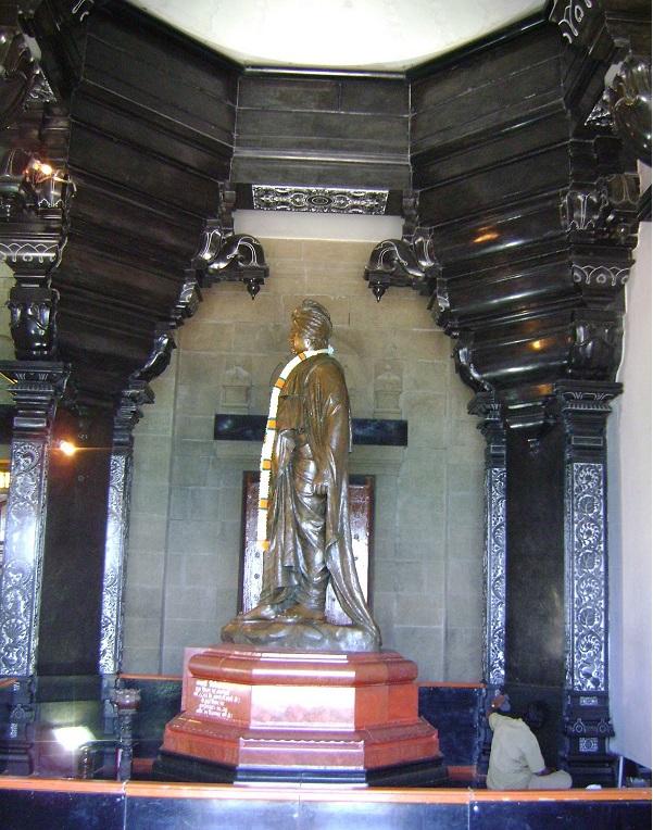 Statue of Swami Vivekananda at  Vivekananda Rock Memorial