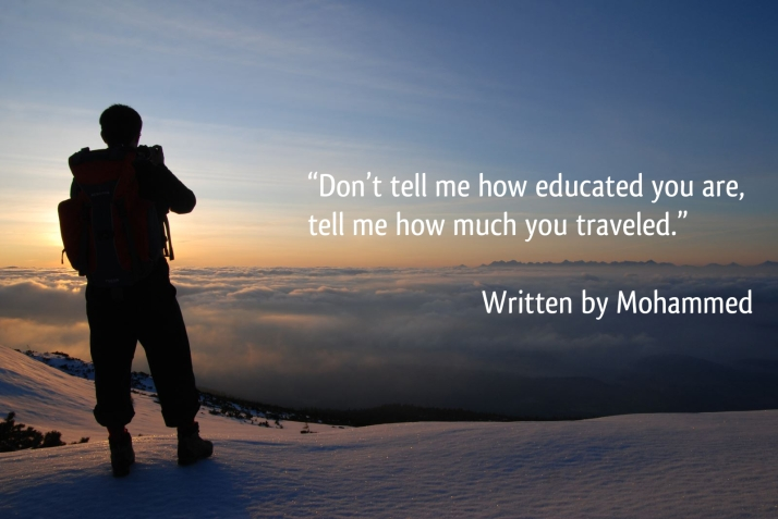 Travel Thought - Mohammed