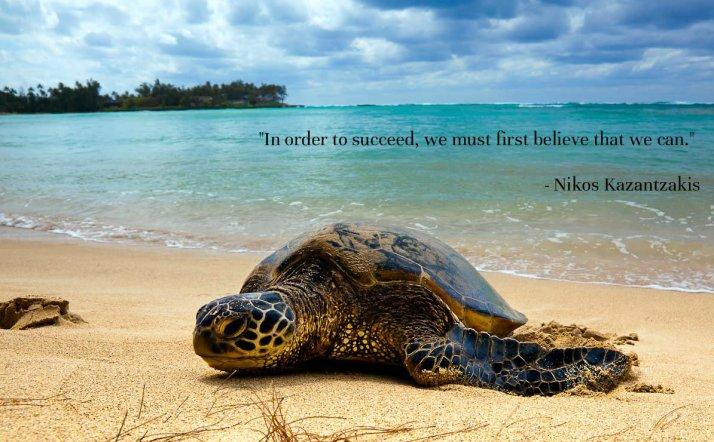 Inspirational Quote -  Nikos Kazantzakis
