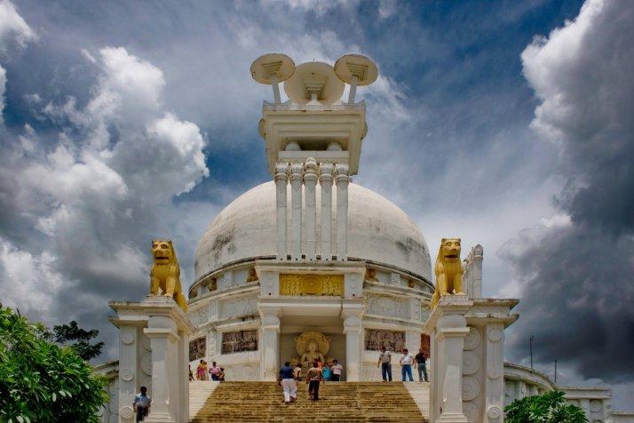 Shanti Stupa at Dhauli Giri