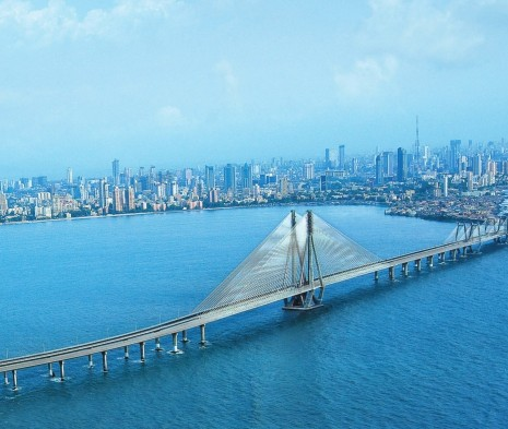 Image result for Bandra-Worli Sea Link, Mumbai