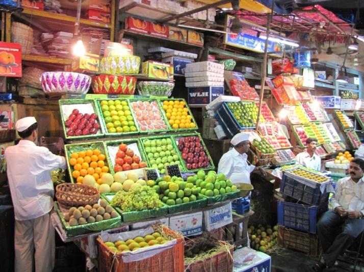 Fruit Shop at Crawford Market