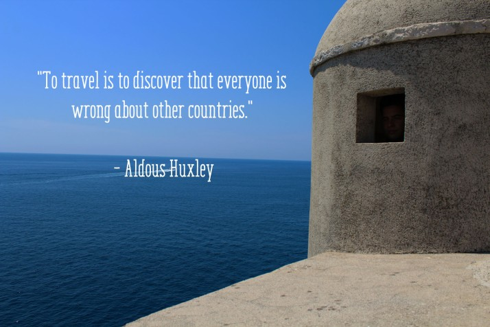 Travel Thought - Aldous Huxley